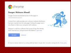 Google 加強攔截高危網站