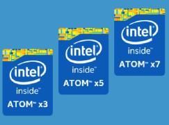 Intel 宣布全新 Atom x3、x5、x7 系列品牌