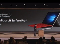 Microsoft 發表 Surface Pro 4 力抗 iPad Pro
