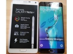 [換名遊戲]Samsung 加大碼 S6 edge + 曝光