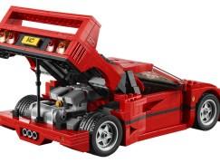 夢寐以求的 LEGO Ferrari F40…根本就是模型