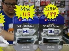 【場報】128GB USB 3.0 手指跌破 $200