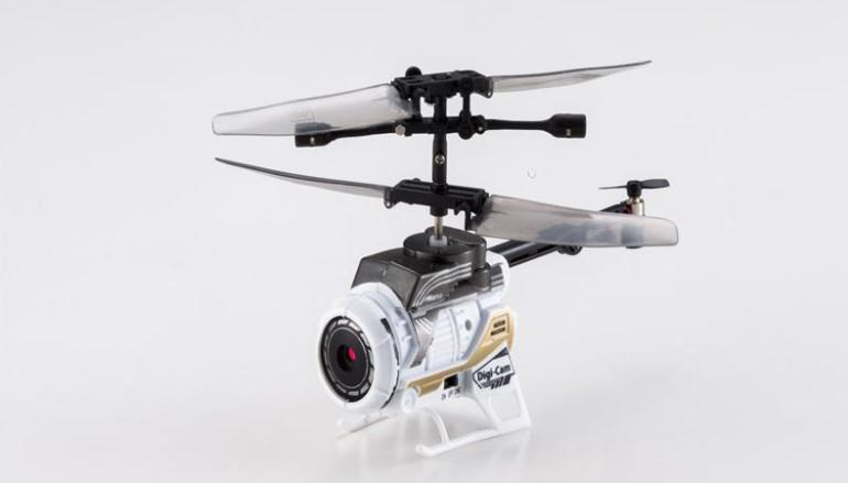 全球最細攝錄直昇機 Silverlit Spycam Nano