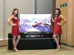 LG 55/65 吋全新 4K 曲面電視正式攻港