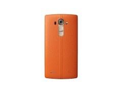 【明天登場】LG G4 追加橙色皮殻