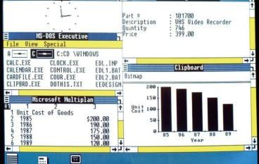 【名筆論壇】走過 Windows 30 年