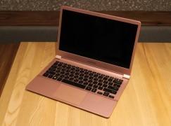 840g超輕量! Samsung 13.3吋Notebook 9輕裝上陣