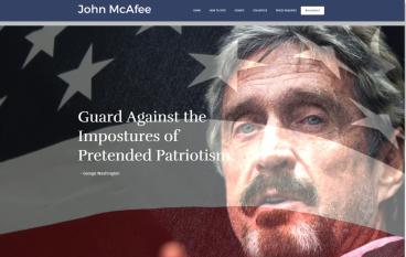 McAfee組政黨選美國總統