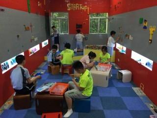 浸信會天虹小學成立的「天虹科創室」(Rainbow Start UpLab),以培養創新科學科技教育為目標。
