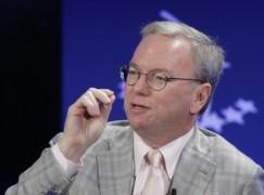 Schmidt:科技公司將贏政府加密戰