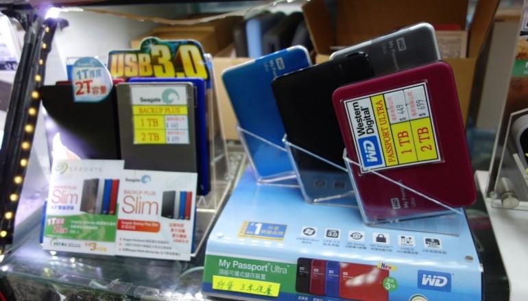 【場報】大廠外置 HDD 貼近細牌