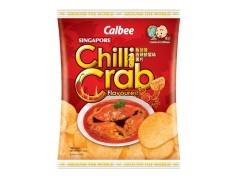 【期間限定】Calbee 新加坡香辣螃蟹味薯片