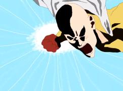 小畫家逐格畫 重製《一拳超人》片頭曲