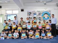專訪:中華基督教青年會小學 筆觸吸引學生繪畫創作