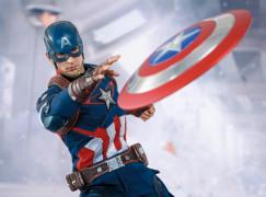 【隊長再起動 】Hot Toys《Avengers:Age of Ultron》1/6 Captain America