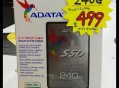 【場報】240GB SSD 新價唔使五百蚊