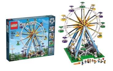 【愈玩愈癲】LEGO 今次玩幸福摩天輪 Ferris Wheel