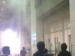 【突發】先達廣場 10 時許發生火警冒煙