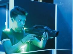 安全至上射擊體感光線槍戰