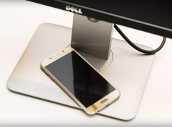 【CES 2016】Dell 23 吋無線顯示器 底座更可以替手機無線充電