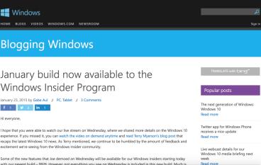 【突然爆出】Windows 10 新版 Preview 9926 可供下載