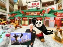 新春玩「功夫熊貓.動喜來」互動場景