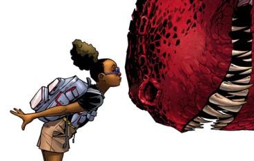 Marvel新漫畫英雄是……黑人女孩和恐龍!?