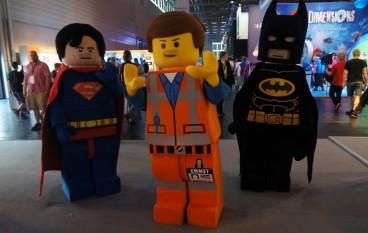 【Gamescom 直擊】趣緻 Lego Figure 出沒注意
