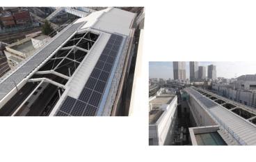 東京地鐵南千住站引入太陽能發電