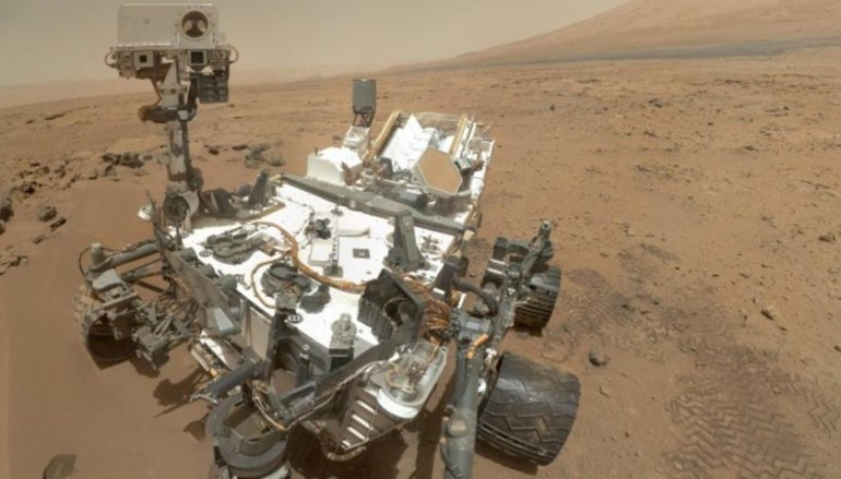 用手機去探索火星吧!!