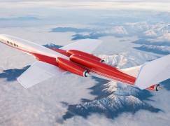 全球首架超音速私人飛機 2023 年啟航