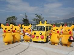 萌爆比卡超、比卡車遊香港!