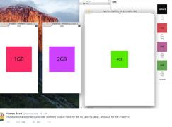 土法Xcode確認 6s升級2GB RAM、iPad Pro 4GB RAM
