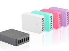 旅行公幹信心之選 Verbatim 6 位 USB 集線充電器