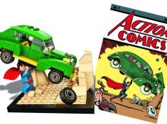 限定版 LEGO 重現 Action Comics 第一期封面場景