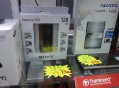 最細外置 SSD 索尼果然罪大滔天