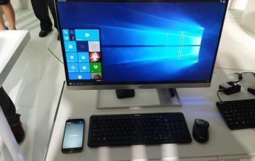 手機扮電腦!Acer Windows 10手機操控示範