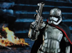 Hot Toys 1/6 First Order Captain Phasma 邪惡女兒身