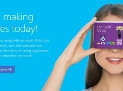 微軟都玩Google Cardboard VR裝置?