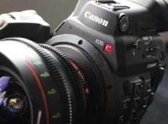 Canon EOS C300 MKII 上陸升級 4K 拍攝