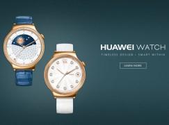 【CES 2016】HUAWEI Watch 推小改款打女性市場