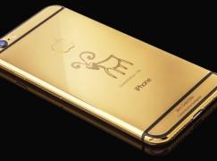 【富豪玩意】羊年限量版24K金iPhone 6 盛惠港幣3萬7