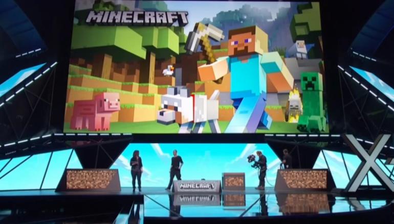 【E3 2015】Minecraft 配 Hololens 做出「神」玩法?!