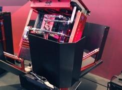 【Computex 2015】極致奢華機箱 H-Tower 勁在識變形