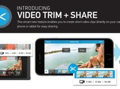 GoPro 加入短片剪裁功能讓用戶快速分享