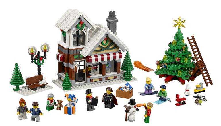 【找錯處…】LEGO 再推 Winter Village Toy Shop 激死炒家