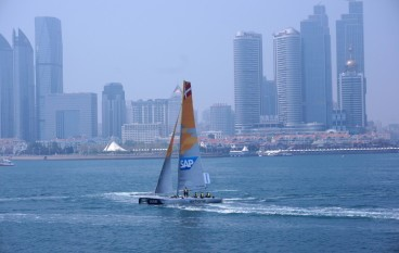極限帆船賽 SAP建「即時排行榜」觀眾更投入
