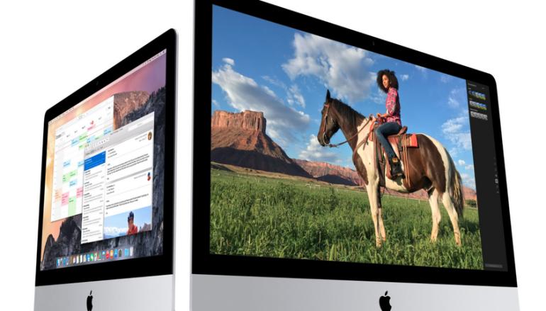 "21.5"" iMac 升級 4K 芒"