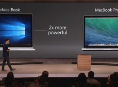 Microsoft Surface Book 完勝 MBP?!