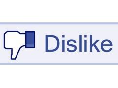 Facebook 鐵定無得 Dislike